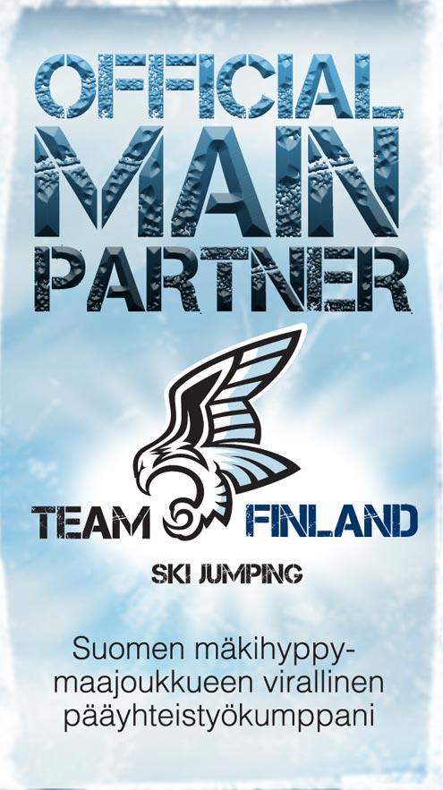 Suomen mäkihyppymaajoukkueen pääyhteistyökumppani
