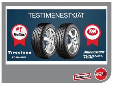 Testimenestyjät Bridgestone ja Firestone