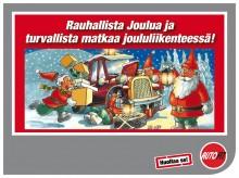 Hyvää Joulua ja malttia joululiikenteessä!